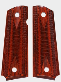 Cocobolo Macassar Dymondwood - Double Diamond Checkered