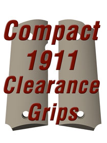 Compact 1911 Clearance Grips