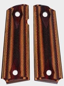 Crimson Ironwood Dymondwood - Double Diamond Checkered