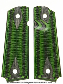 Evergreen Camo Dymondwood - Double Diamond Checkered