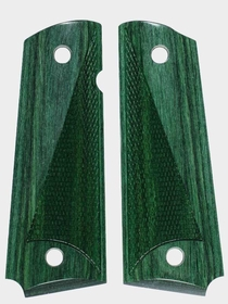 French Green Dymondwood - Tactical Half Checkered