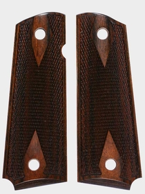 Heritage Brown Dymondwood - Double Diamond Checkered