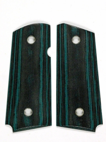 Para PDA - Canvas Phenolic - Turquoise and Black - Smooth
