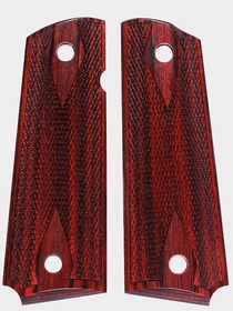 Rosewood Burgundy Dymondwood - Double Diamond Checkered