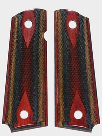 Royal Jacaranda - Rosewood Top Dymondwood - Rosewood Burgundy Top - Double Diamond Checkered