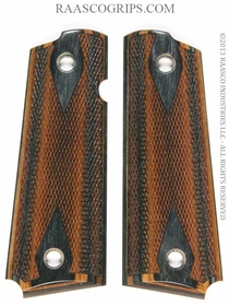 Royal Marblewood Dymondwood Grips for Taurus 1911