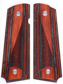 Santos Zebra Dymondwood - Cocobolo Macassar Top - Tactical Half Checkered