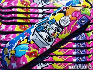 "Skate All Cities ""Boom & Cachicken All Day Everyday"" Collab Deck"