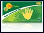 Ecobee BeeSure Powder-Free Latex Exam Gloves 4.7 mils