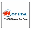 LATEX EXAM GLOVES 2,000 Per Case TOP BUY