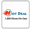 LATEX GLOVES 1,000 Per Case TOP BUY