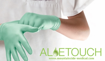 The Aloe-Touch Nitrile Exam Gloves