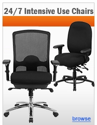 24/7 Intensive Use Office Chairs