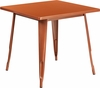 31.5'' Square Copper Metal Indoor-Outdoor Table [ET-CT002-1-POC-GG]