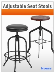 Adjustable Seat Stools