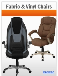 Fabric and Vinyl Office Chairs