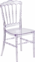 Flash Elegance Crystal Ice Stacking Napoleon Chair [Y-1-GG]