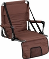 Folding Stadium Chair in Brown [TY2710-BN-GG]
