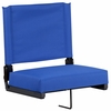 Grandstand Comfort Seats by Flash with Ultra-Padded Seat in Blue [XU-STA-BL-GG]