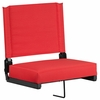 Grandstand Comfort Seats by Flash with Ultra-Padded Seat in Red [XU-STA-RED-GG]