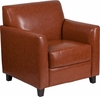 HERCULES Diplomat Series Cognac Leather Chair [BT-827-1-CG-GG]
