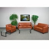 HERCULES Diplomat Series Reception Set in Cognac [BT-827-SET-CG-GG]