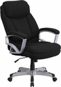 HERCULES Series 500 lb. Capacity Big & Tall Black Fabric Executive Swivel Office Chair [GO-1850-1-FAB-GG]