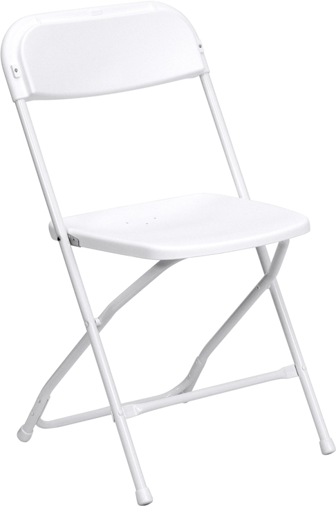 100 PACK White Color Folding Chairs Foot Caps For Rental Style Poly Chairs