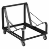 HERCULES Series Black Steel Sled Base Stack Chair Dolly [XU-MC168-DOLLY-GG]