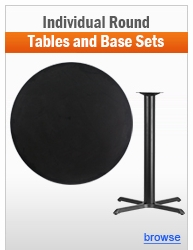Individual Round Table and Base Sets