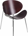 Mahogany Bentwood Leisure Reception Chair [SD-2268-7-MAH-GG]