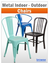 Metal Indoor-Outdoor Chairs