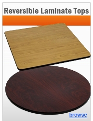 Reversible Budget Laminate Table Tops