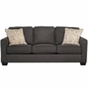 Signature Design by Ashley Alenya Sofa in Charcoal Microfiber [FSD-1669SO-CH-GG]