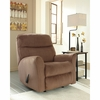 Signature Design by Ashley Cossette Rocker Recliner in Cocoa Fabric [FSD-1069REC-COA-GG]