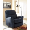 Signature Design by Ashley Cossette Rocker Recliner in Midnight Fabric [FSD-1069REC-MID-GG]