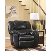 Signature Design by Ashley Dylan Durablend Rocker Recliner in Onyx Durablend [FSD-5699REC-ONX-GG]