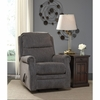 Signature Design by Ashley Earles Rocker Recliner in Flannel Fabric [FSD-6059REC-FLN-GG]