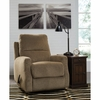 Signature Design by Ashley Fambro Rocker Recliner in Hazel Chenille [FSD-5599REC-HZL-GG]