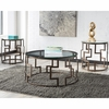 Signature Design by Ashley Frostine 3 Piece Occasional Table Set [FSD-TS3-10DB-GG]