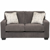 Signature Design by Ashley Hodan Loveseat in Marble Microfiber [FSD-7979LS-MBL-GG]