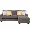 Signature Design by Ashley Hodan Sofa Chaise in Marble Microfiber [FSD-7979SOFCH-MBL-GG]