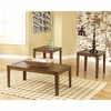 Signature Design by Ashley Hollytyne 3 Piece Occasional Table Set [FSD-TS3-13BN-GG]