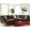 Signature Design by Ashley Jayceon 3-Piece RAF Sofa Sectional in Java Fabric [FSD-6499SEC-3RAFS-JAV-GG]