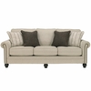Signature Design by Ashley Milari Sofa in Linen [FSD-1309SO-LIN-GG]