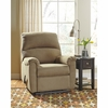 Signature Design by Ashley Otwell Wall Hugger Recliner in Cocoa Fabric [FSD-8759REC-HUG-COA-GG]