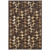 Exceptional Designs by Flash Stratus 5' x 7'3'' Rug [FSD-RUG-69MLT-GG]