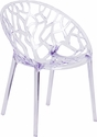 Specter Series Transparent Stacking Side Chair [FH-156-APC-GG]