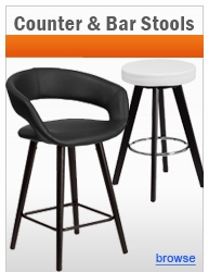 Wood Counter Height & Bar Height Stools
