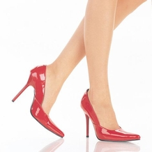 4 1/2'' Heel Pointed-Toe Classic Pump